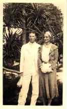 Paul namesake_Paul and Mynn White on honeymoon