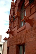 Fisher Fine Arts Library gargoyles