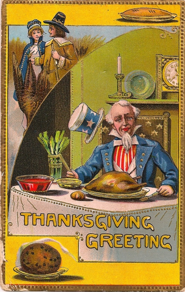 Uncle sam has thanksgiving