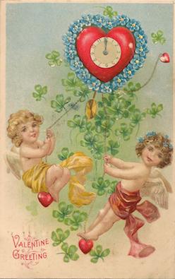 Valentine cupid 1908