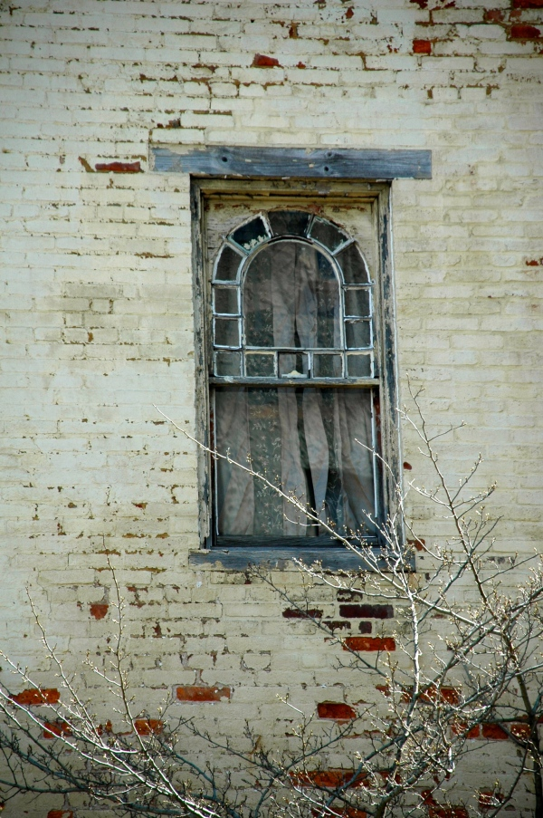 Old window in Lancaster, PA