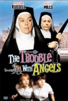cover art The Trouble with Angels